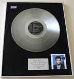 RICK ASTLEY - HOLD ME IN YOUR ARMS PLATINUM LP Presentation Disc
